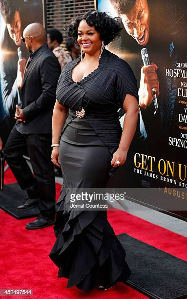Actress Jill Scott attends the 'Get On Up' premiere at The Apollo Theater on July 21 2014 in New York City