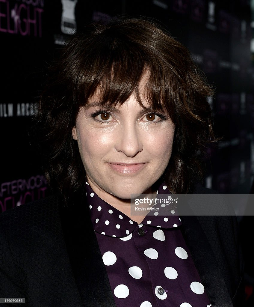 Actress <a gi-track='captionPersonalityLinkClicked' href=/galleries/search?phrase=Jill+Soloway&family=editorial&specificpeople=1131373 ng-click='$event.stopPropagation()'>Jill Soloway</a> arrives at the premiere of The Film Arcade and Cinedigm's 'Afternoon Delight' at the Arclight Theatre on August 19, 2013 in Los Angeles, California.