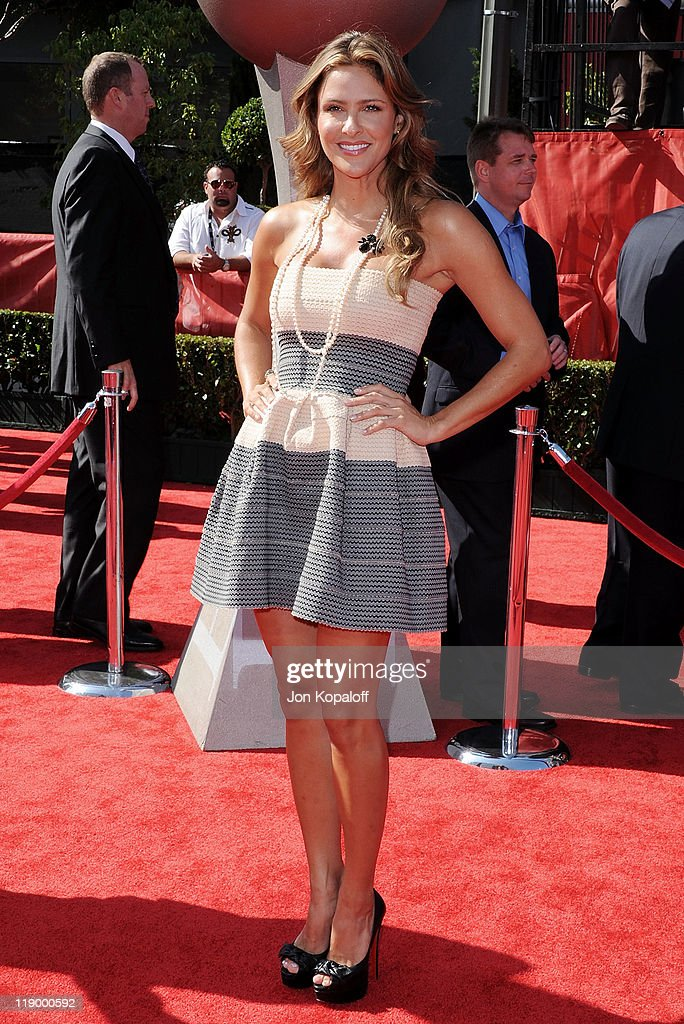 Actress Jill Wagner arrives at the 19th Annual ESPY Awards at Nokia Theatre L.A. Live on July 13, 2011 in Los Angeles, California.