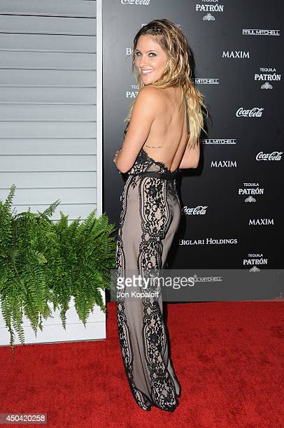 Actress Jill Wagner arrives at the MAXIM Hot 100 Celebration Event at Pacific Design Center on June 10 2014 in West Hollywood California