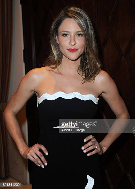 Actress Jill Wagner arrives for MyFaceMyBody Awards held at Montage Beverly Hills on November 5 2016 in Beverly Hills California