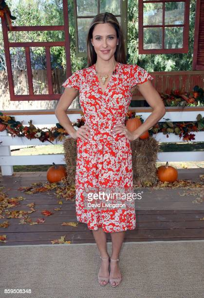 Actress Jill Wagner attends Hallmark's 'Home Family' at Universal Studios Hollywood on October 9 2017 in Universal City California
