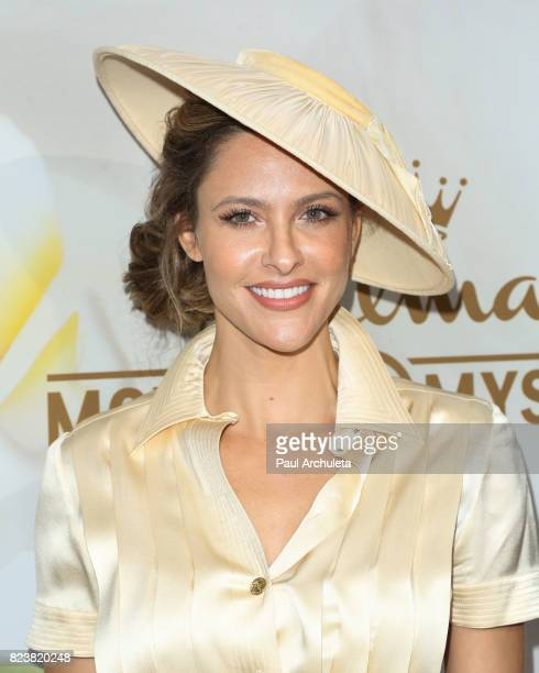 Actress Jill Wagner attends the Hallmark Channel And Hallmark Movies And Mysteries 2017 Summer TCA Tour at on July 27 2017 in Beverly Hills California