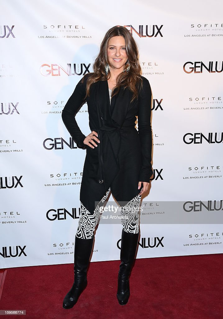 Actress Jill Wagner attends the opening of the new bar Riviera 31 at the Sofitel L.A. Hotel on January 15, 2013 in Beverly Hills, California.