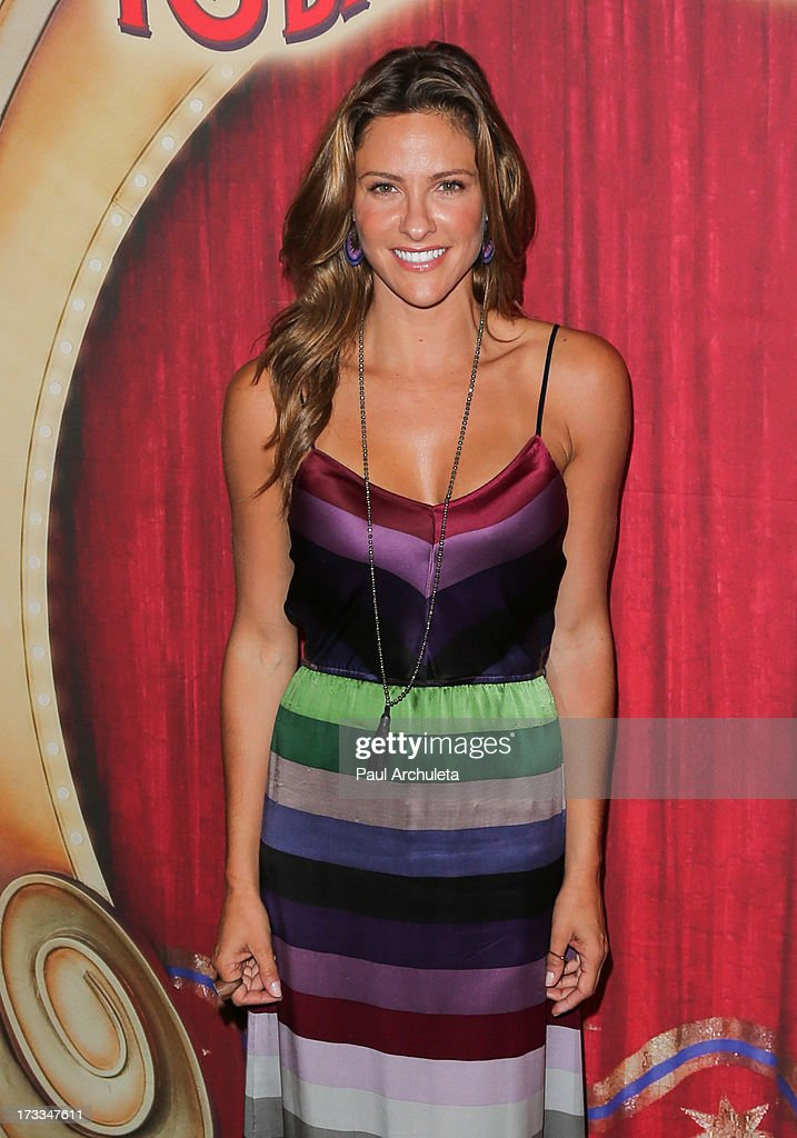 Actress Jill Wagner attends the premiere of Ringling Bros. And Barnum & Bailey's 'Built To Amaze!' at the Staples Center on July 11, 2013 in Los Angeles, California.