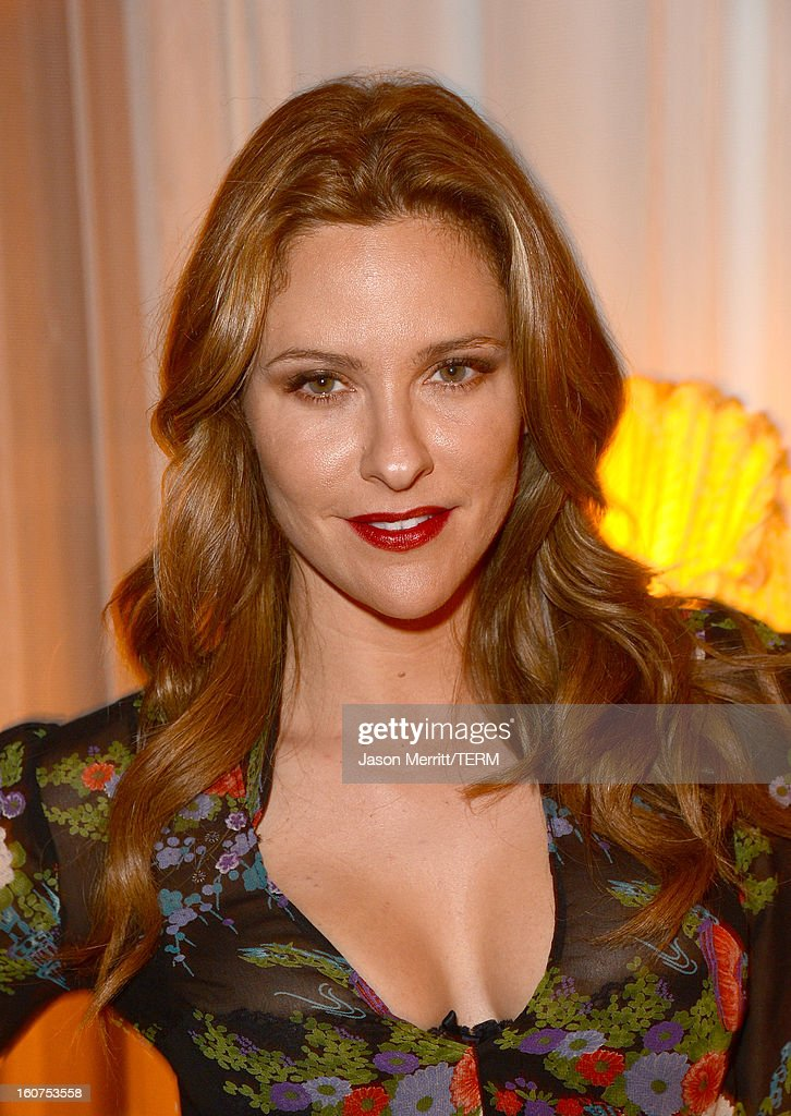 Actress Jill Wagner attends the RVCA Swimwear Launch at The Standard Hotel on February 4, 2013 in Los Angeles, United States.