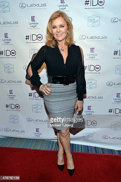 Actress Jill Whelan attends the Lambda Legal 2015 West Coast Liberty Awards at the Beverly Wilshire Four Seasons Hotel on June 11 2015 in Beverly...