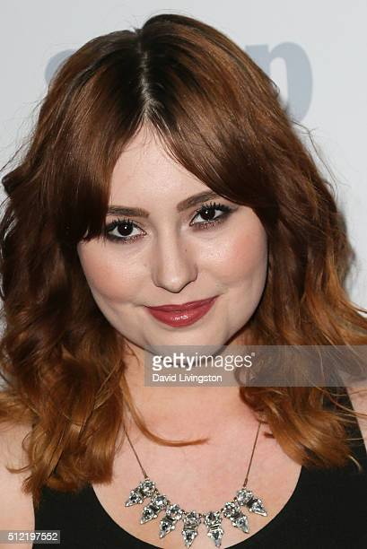 Actress Jillian Clare arrives at the 40th Anniversary of the Soap Opera Digest at The Argyle on February 24 2016 in Hollywood California
