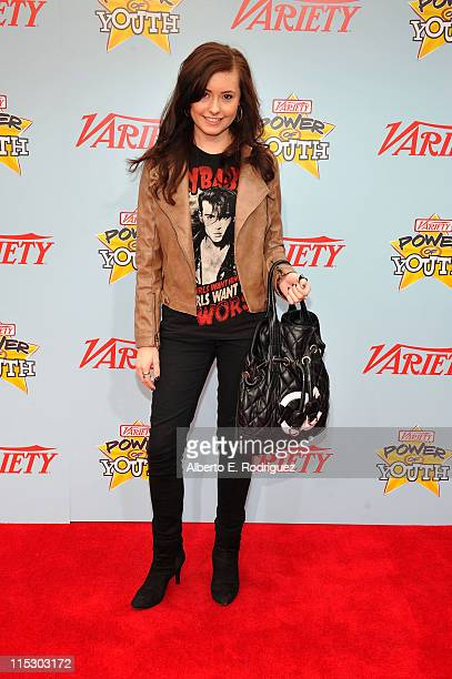 Actress Jillian Clare arrives at Variety's 3rd annual 'Power of Youth' event held at Paramount Studios on December 5 2009 in Los Angeles California