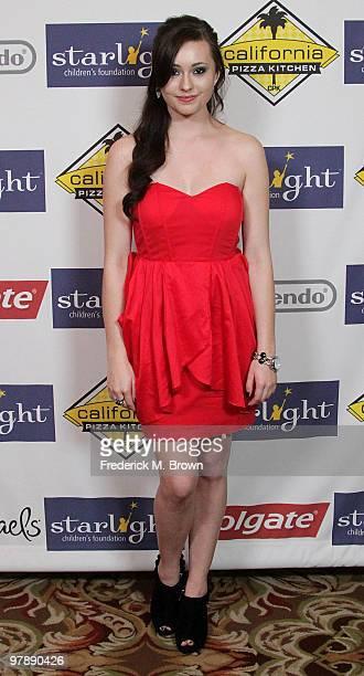 Actress Jillian Clare attends the Starlight Children's Foundation's annual 2010 'A Stellar Night' gala at the Hyatt Regency Century Plaza Hotel on...