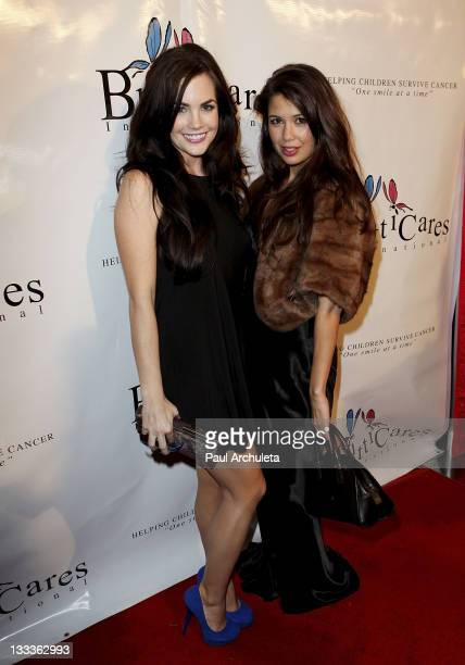 Actress Jillian Murray and Jessie Nickson arrive at the Britticares International Foundation's Golden Globe Awards Post Celebration at The Green Door...