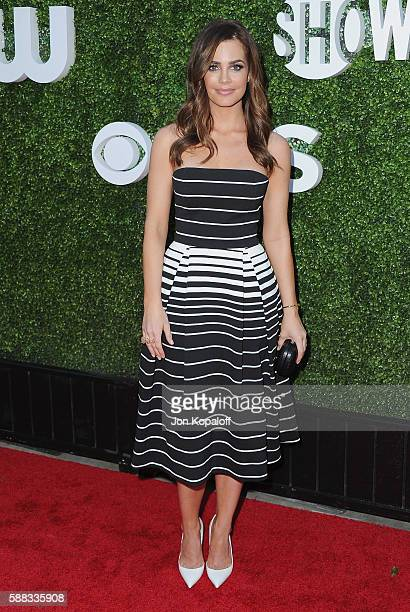 Actress Jillian Murray arrives at CBS CW Showtime Summer TCA Party at Pacific Design Center on August 10 2016 in West Hollywood California
