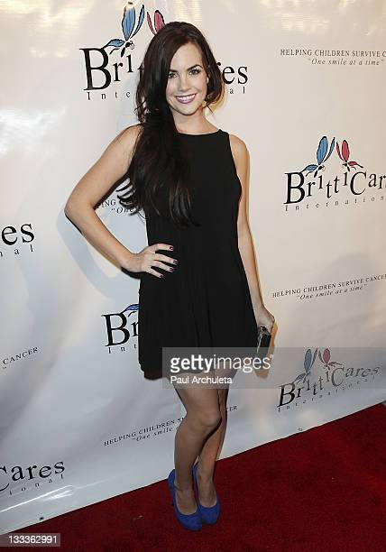 Actress Jillian Murray arrives at the Britticares International Foundation's Golden Globe Awards Post Celebration at The Green Door on January 17...