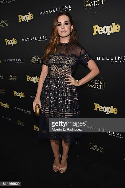 Actress Jillian Murray attends People's 'Ones to Watch' event presented by Maybelline New York at EP LP on October 13 2016 in Hollywood California