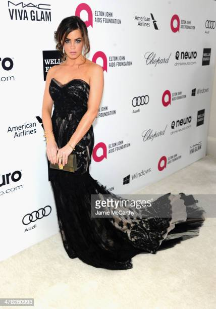 Actress Jillian Murray attends the 22nd Annual Elton John AIDS Foundation Academy Awards Viewing Party at The City of West Hollywood Park on March 2...