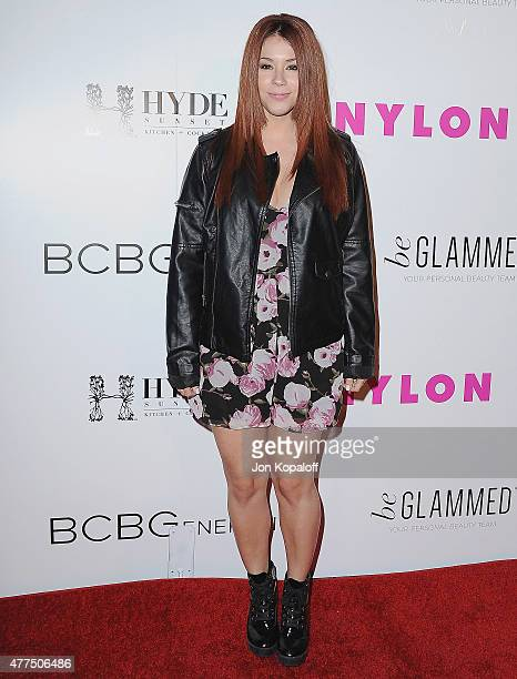 Actress Jillian Rose Reed arrives at NYLON Magazine And BCBGeneration Annual May Young Hollywood Issue Party Hosted By May Cover Star Dakota Fanning...