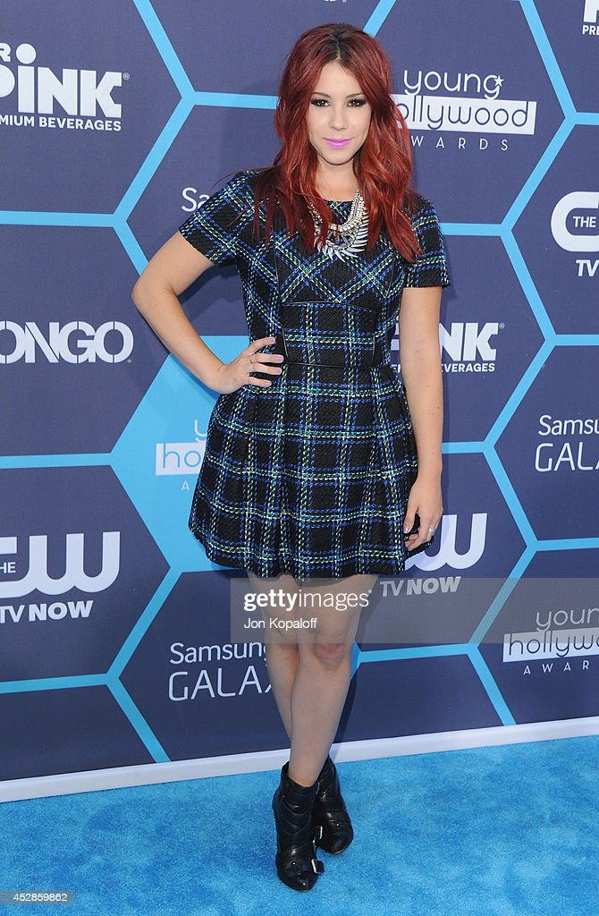 Actress Jillian Rose Reed arrives at the 16th Annual Young Hollywood Awards at The Wiltern on July 27, 2014 in Los Angeles, California.