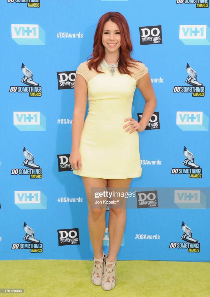 Actress Jillian Rose Reed arrives at the 2013 Do Something Awards at Avalon on July 31, 2013 in Hollywood, California.