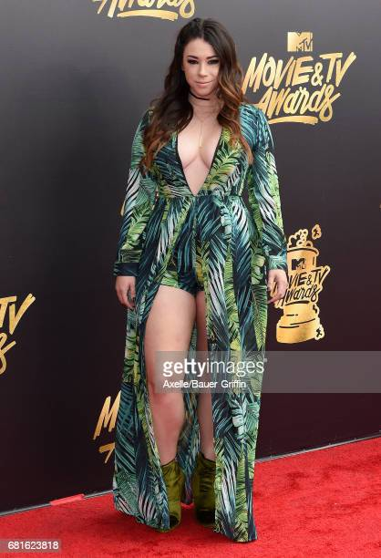 Actress Jillian Rose Reed arrives at the 2017 MTV Movie and TV Awards at The Shrine Auditorium on May 7 2017 in Los Angeles California