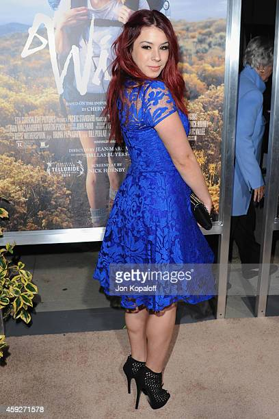 Actress Jillian Rose Reed arrives at the Los Angeles Premiere 'Wild' at AMPAS Samuel Goldwyn Theater on November 19 2014 in Beverly Hills California