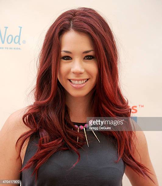Actress Jillian Rose Reed arrives at the Milk Bookies 6th Annual Story Time Celebration at Skirball Cultural Center on April 19 2015 in Los Angeles...