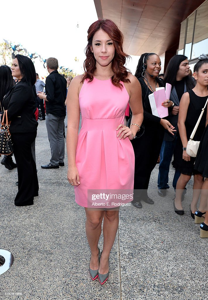 Actress Jillian Rose Reed attends CW Network's 2013 Young Hollywood Awards presented by Crest 3D White and SodaStream held at The Broad Stage on August 1, 2013 in Santa Monica, California.