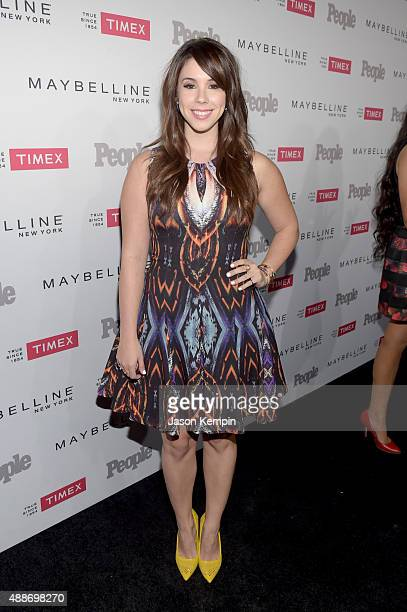 Actress Jillian Rose Reed attends PEOPLE's Ones To Watch Event on September 16 2015 in West Hollywood California