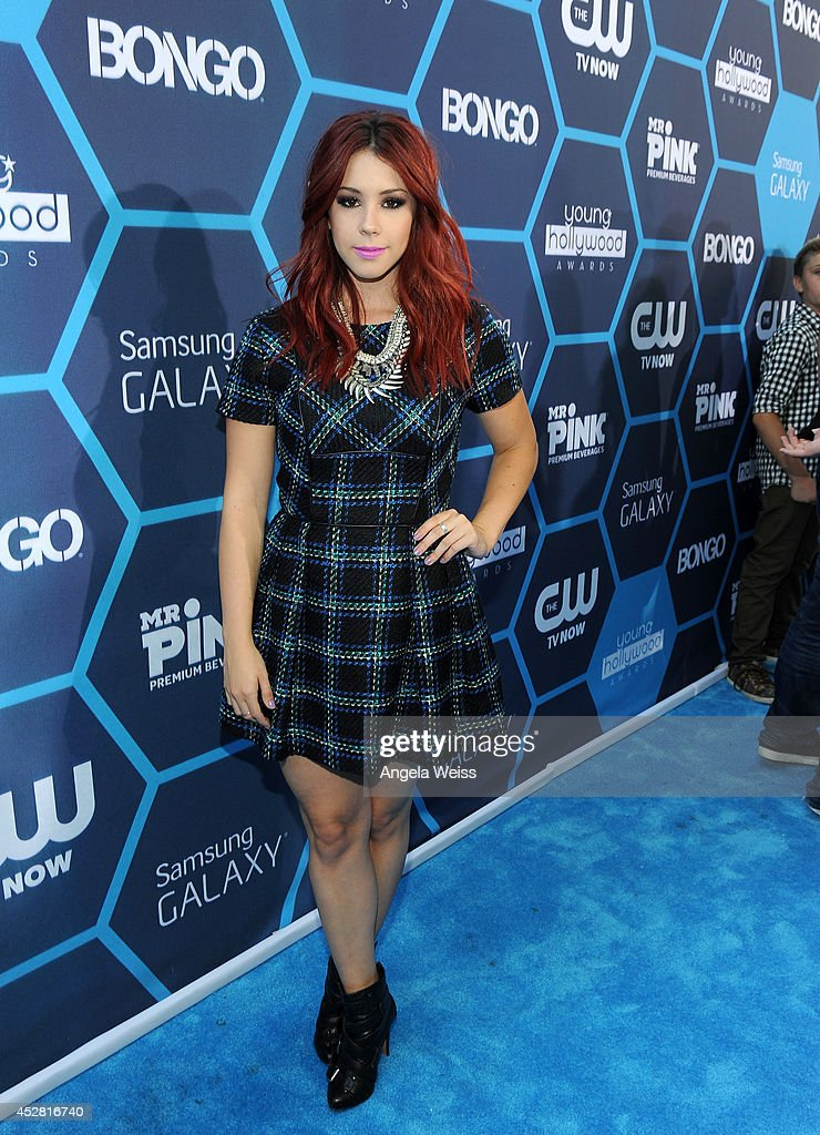 Actress Jillian Rose Reed attends the 2014 Young Hollywood Awards brought to you by Samsung Galaxy at The Wiltern on July 27, 2014 in Los Angeles, California.