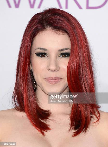 Actress Jillian Rose Reed attends the 39th Annual People's Choice Awards at Nokia Theatre LA Live on January 9 2013 in Los Angeles California