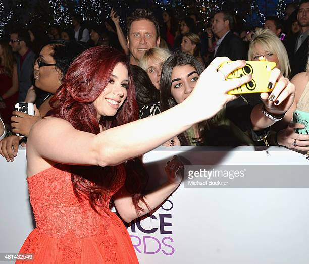 Actress Jillian Rose Reed attends The 40th Annual People's Choice Awards at Nokia Theatre LA Live on January 8 2014 in Los Angeles California