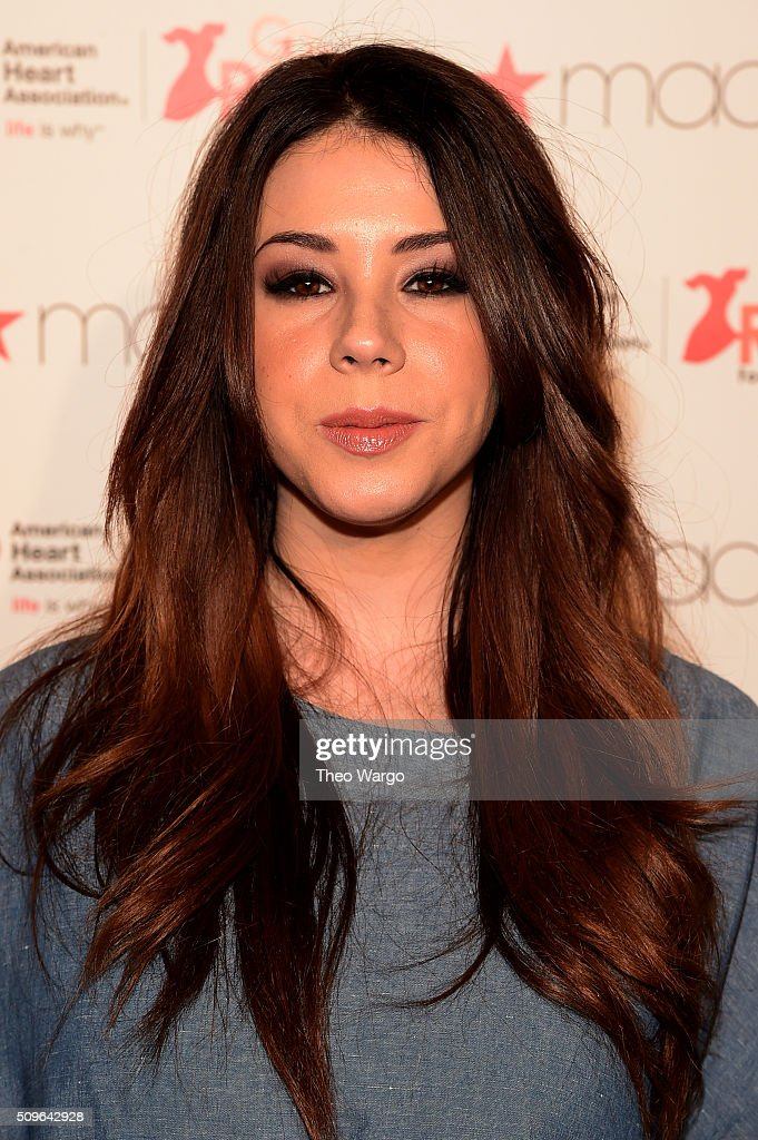 Actress <a gi-track='captionPersonalityLinkClicked' href=/galleries/search?phrase=Jillian+Rose+Reed&family=editorial&specificpeople=7430633 ng-click='$event.stopPropagation()'>Jillian Rose Reed</a> attends The American Heart Association's Go Red For Women Red Dress Collection 2016 Presented By Macy's at The Arc, Skylight at Moynihan Station on February 11, 2016 in New York City.