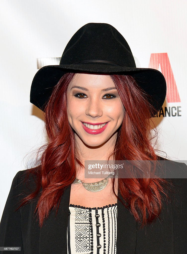 Actress <a gi-track='captionPersonalityLinkClicked' href=/galleries/search?phrase=Jillian+Rose+Reed&family=editorial&specificpeople=7430633 ng-click='$event.stopPropagation()'>Jillian Rose Reed</a> attends the Lyme Light Benefit Concert at El Rey Theatre on May 1, 2014 in Los Angeles, California.
