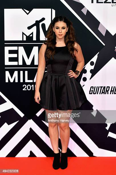 Actress Jillian Rose Reed attends the MTV EMA's 2015 at the Mediolanum Forum on October 25 2015 in Milan Italy