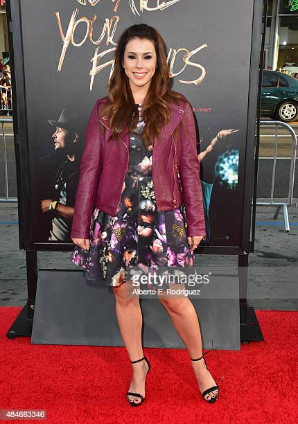 Actress Jillian Rose Reed attends the premiere of Warner Bros Pictures' 'We Are Your Friends' at TCL Chinese Theatre on August 20 2015 in Hollywood...