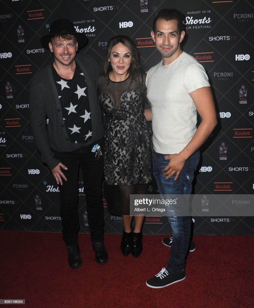 Actress Jill-Michele Melean and guests arrive for the HollyShorts Film Festival - Closing Night Film 'This Is Meg' held at TCL Chinese 6 Theatres on August 19, 2017 in Hollywood, California.