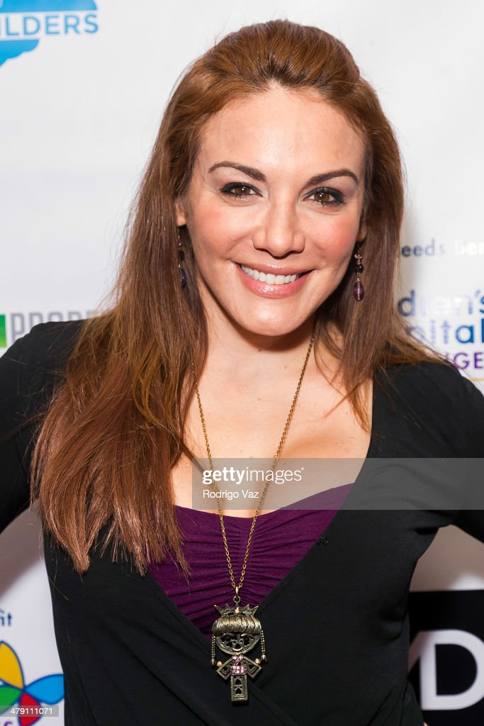 Actress Jill-Michele Melean attends The Dream Builders Project 'A Brighter Future For Children' at H.O.M.E. on March 15, 2014 in Beverly Hills, California.
