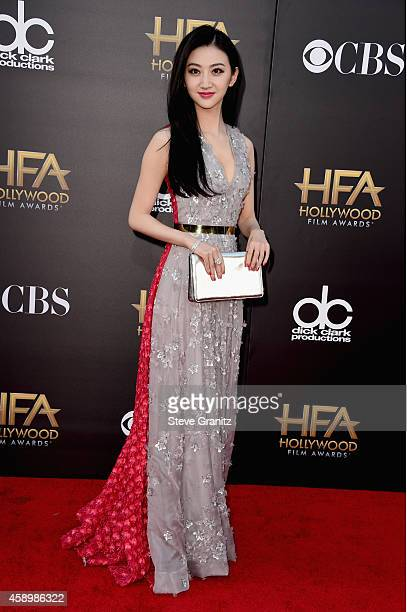 Actress Jing Tian attends the 18th Annual Hollywood Film Awards at The Palladium on November 14 2014 in Hollywood California