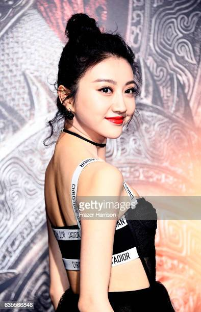 Actress Jing Tian attends the premiere of Universal Pictures' 'The Great Wall' at TCL Chinese Theatre IMAX on February 15 2017 in Hollywood California