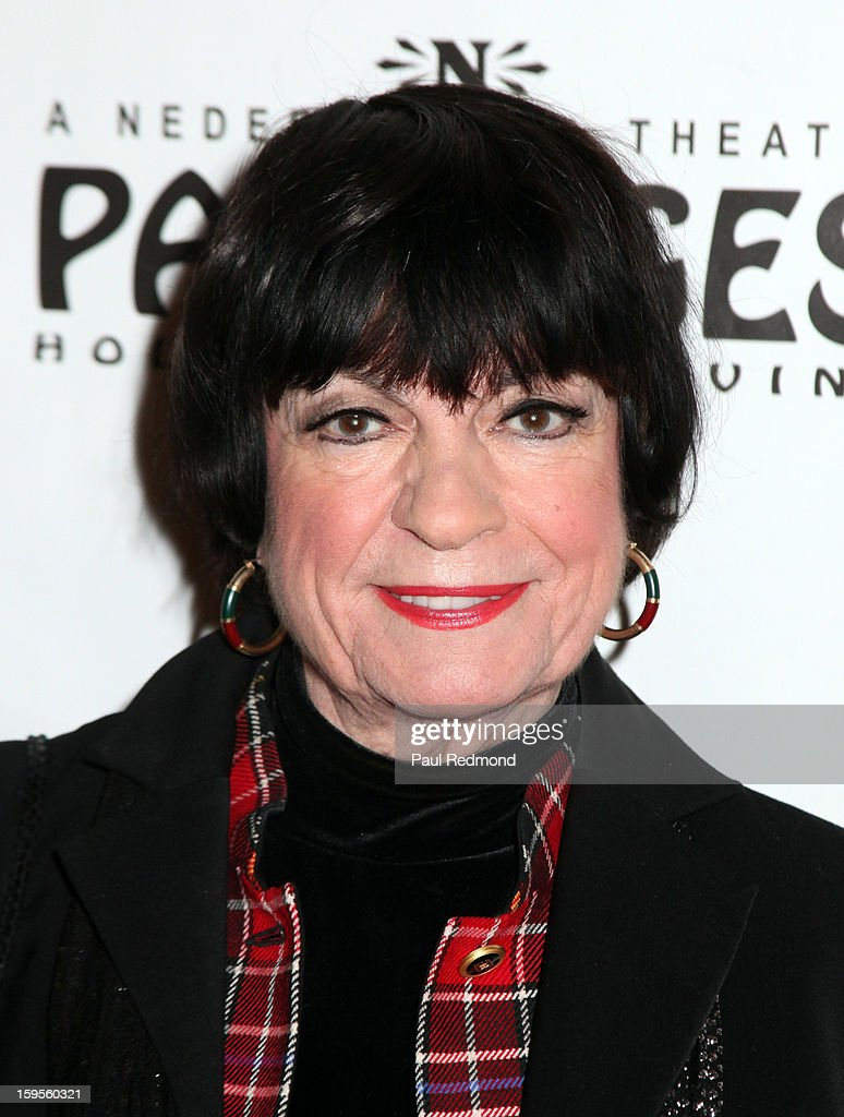 Actress Jo Anne Worley arrives at 'Peter Pan' Los Angeles play opening night at the Pantages Theatre on January 15, 2013 in Hollywood, California.