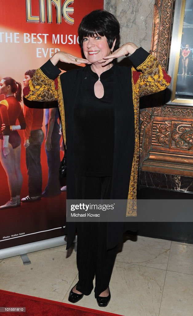 Actress Jo Anne Worley arrives at the Los Angeles opening night of 'A Chorus Line' at the Pantages Theatre on June 1 2010 in Hollywood California