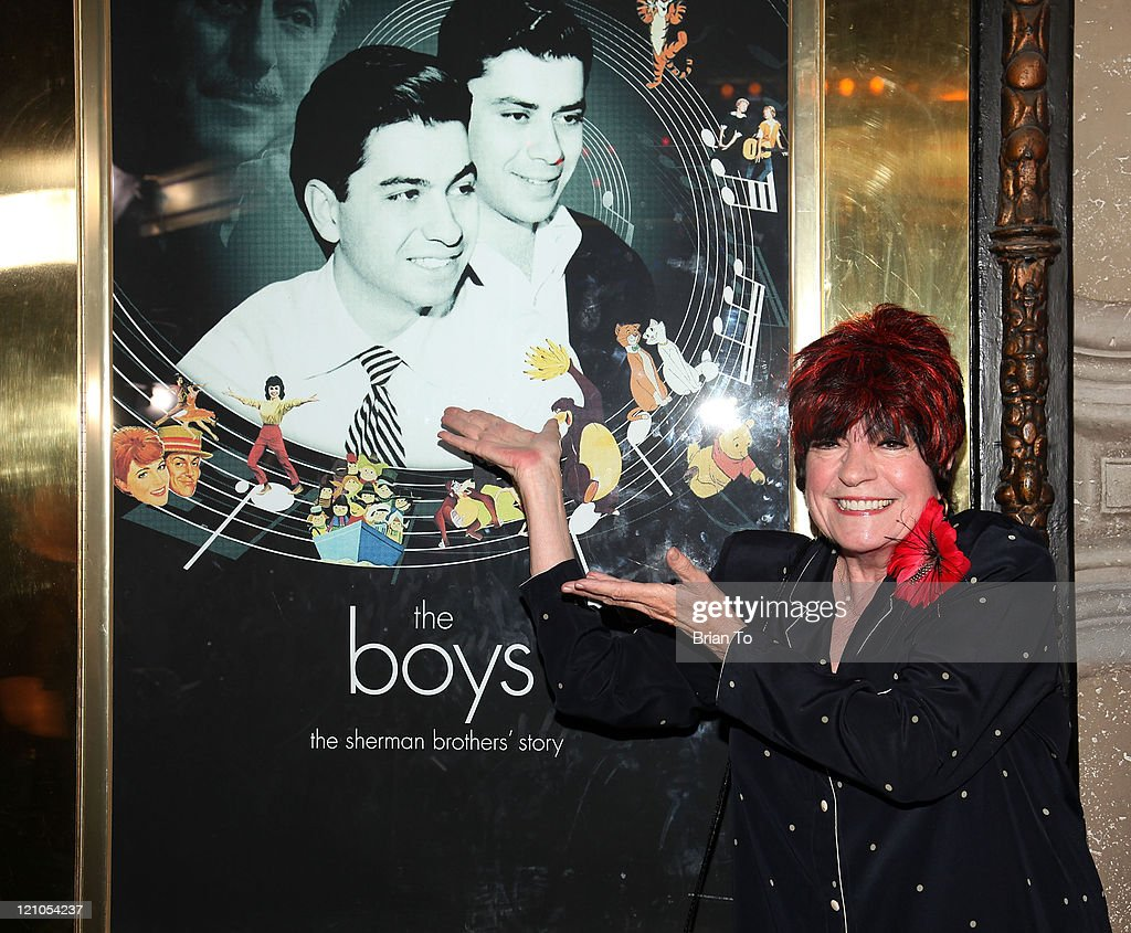 Actress Jo Anne Worley arrives at the Los Angeles special screening of 'The Boys The Sherman Brothers' Story' at the El Capitan Theatre on May 19...