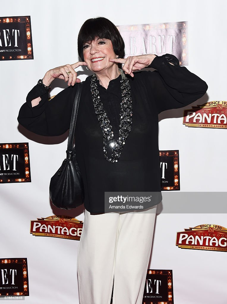 Actress Jo Anne Worley arrives at the opening of 'Cabaret' at the Hollywood Pantages Theatre on July 20 2016 in Hollywood California