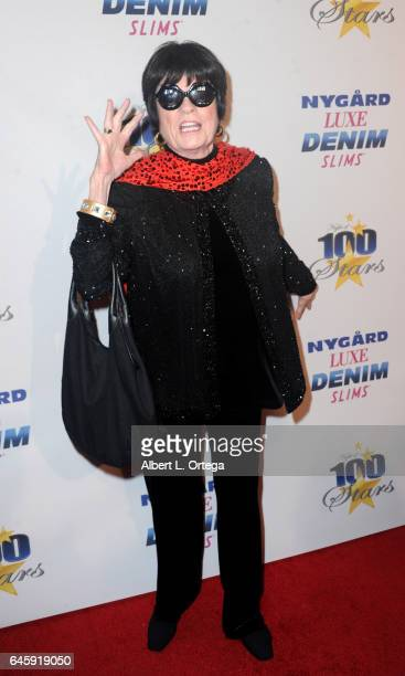 Actress Jo Anne Worley arrives for the Norby Walters' 27th Annual Night Of 100 Stars Black Tie Dinner Viewing Gala held at The Beverly Hilton Hotel...