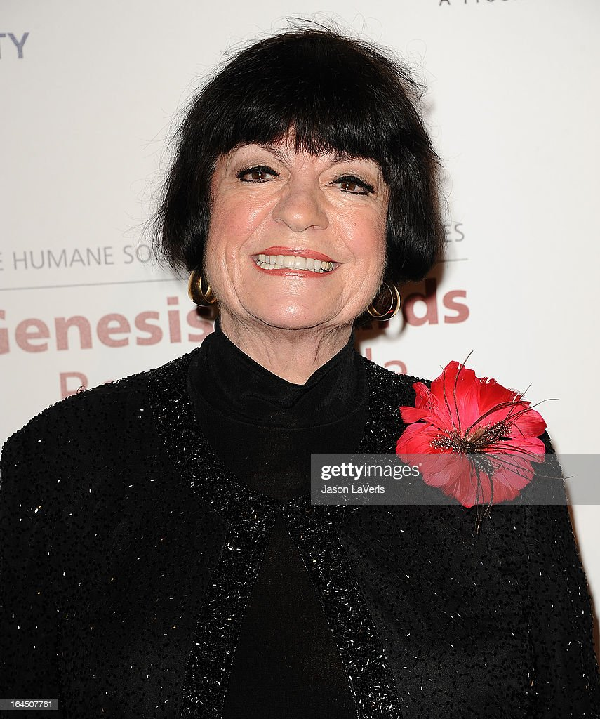 Actress Jo Anne Worley attends The Humane Society's 2013 Genesis Awards benefit gala at the Beverly Hilton Hotel on March 23, 2013 in Beverly Hills, California.