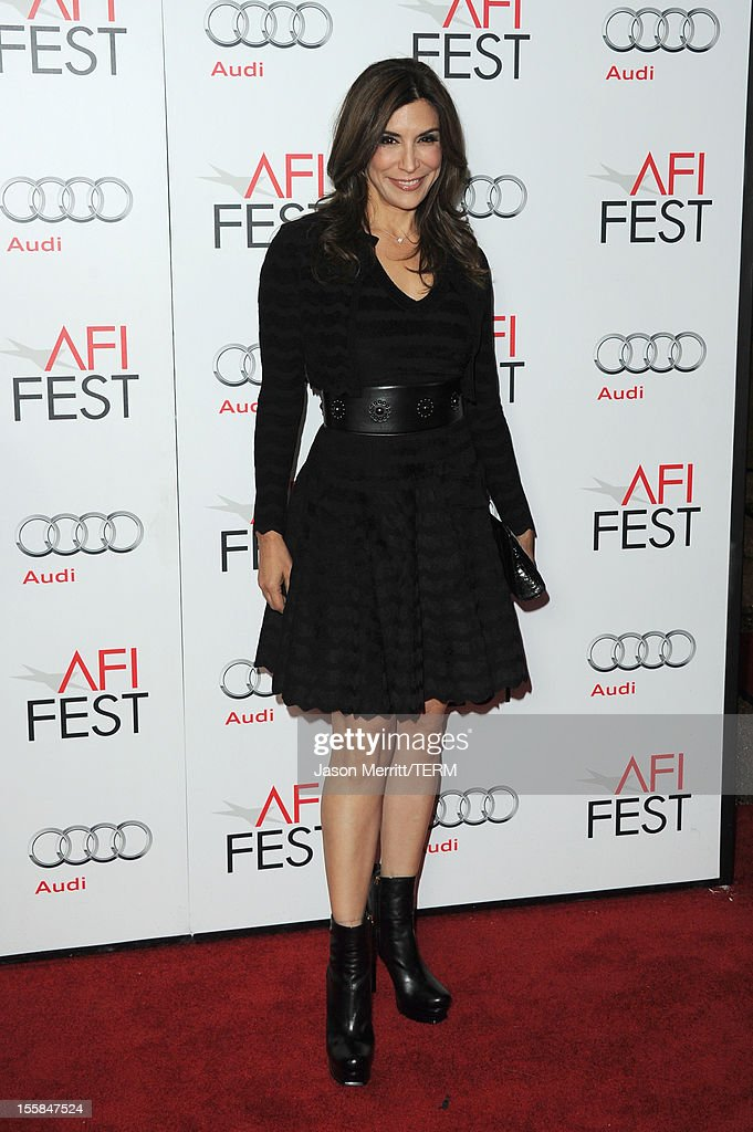 Actress Jo Champa arrives at the 'Lincoln' premiere during AFI Fest 2012 presented by Audi at Grauman's Chinese Theatre on November 8, 2012 in Hollywood, California.