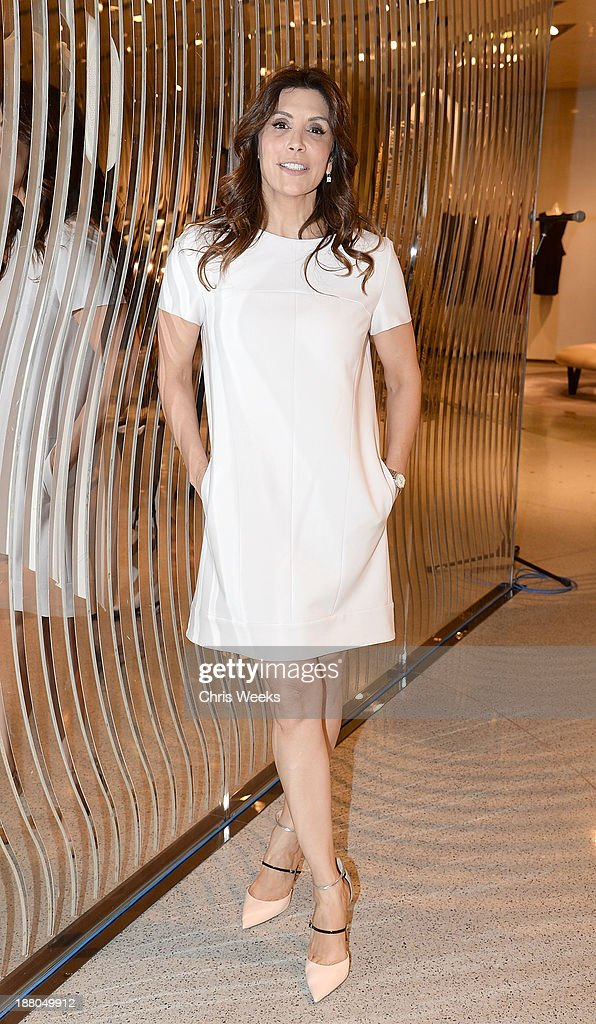 Actress <a gi-track='captionPersonalityLinkClicked' href=/galleries/search?phrase=Jo+Champa&family=editorial&specificpeople=208171 ng-click='$event.stopPropagation()'>Jo Champa</a> attends Leslie Zemeckis' book signing for 'Behind the Burly Q' at Alberta Ferretti Boutique on November 14, 2013 in West Hollywood, California.