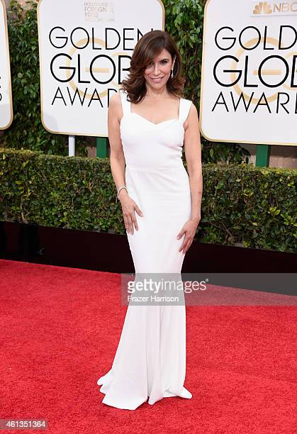 Actress Jo Champa attends the 72nd Annual Golden Globe Awards at The Beverly Hilton Hotel on January 11 2015 in Beverly Hills California