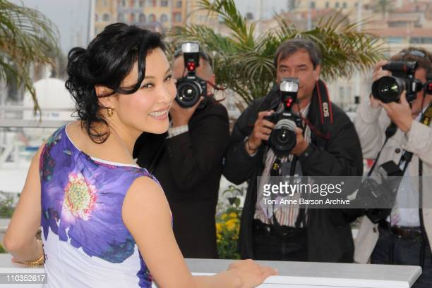 Actress Joan Chen attends the 24 City photocall at the Palais des Festivals during the 61st Cannes International Film Festival on May 17 2008 in...