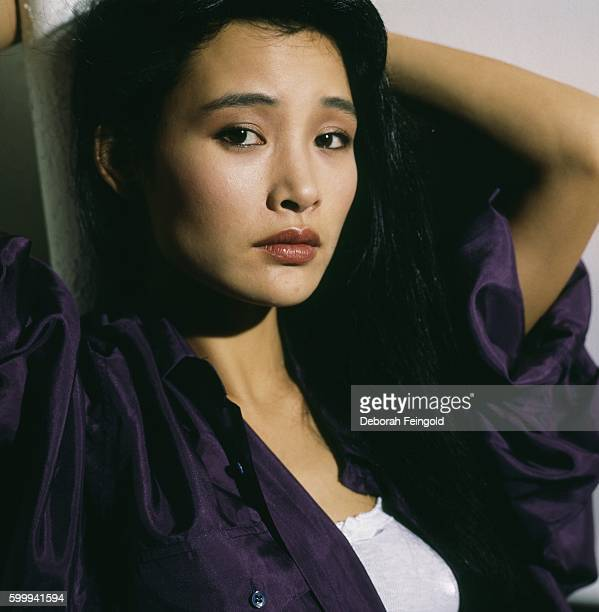 Actress Joan Chen posing for Elle in July 1986 in New York City New York