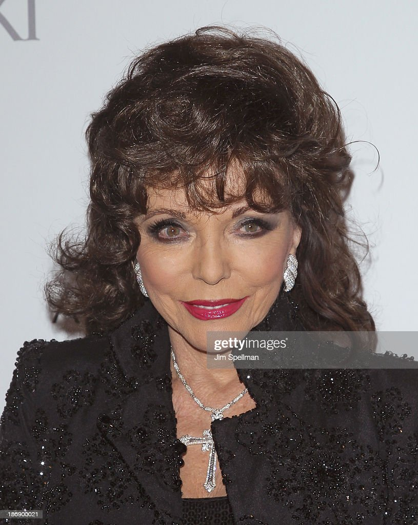 Actress <a gi-track='captionPersonalityLinkClicked' href=/galleries/search?phrase=Joan+Collins&family=editorial&specificpeople=109065 ng-click='$event.stopPropagation()'>Joan Collins</a> attends the 17th annual ACE Awards at Cipriani 42nd Street on November 4, 2013 in New York City.